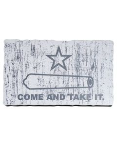 ''Come and Take It'' Distressed-Look Magnet