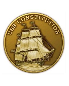 USS Constitution Great Chase Medallion