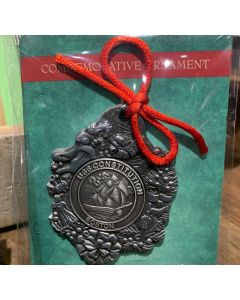 USS Constitution Pewter Ornament