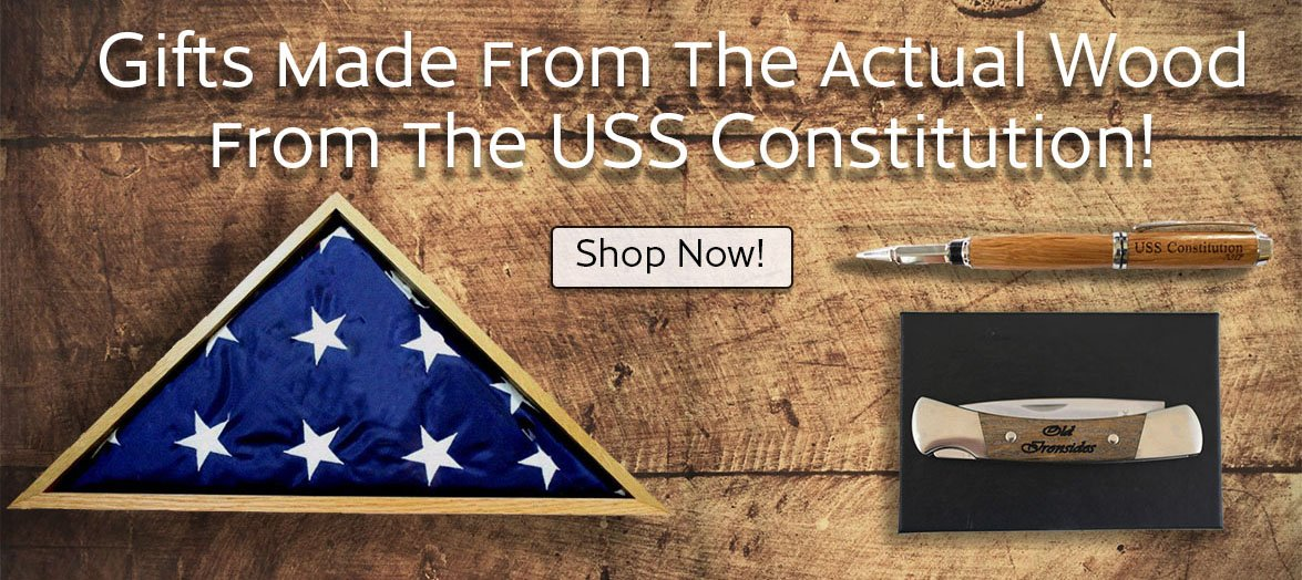 USS Constitution Wood crafted gifts