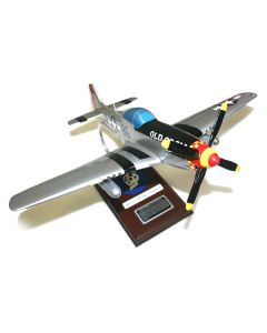 P- 51D Mustang Old Crow Model Plane