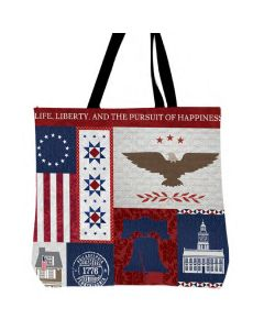 Philly Patriotic Quilt Tote