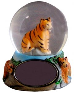 Mini Logo Tiger Water Globe