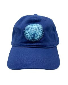 Youth Blue Raptor Jungle Cap