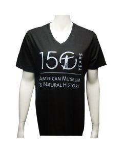 Adult V-Neck 150th Anniversary Logo T-Shirt