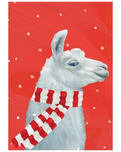 Cozy Llama Boxed Holiday Cards