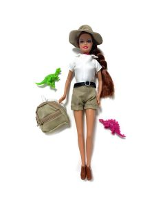 Paleontologist ''Fossil Dig'' Doll Contents