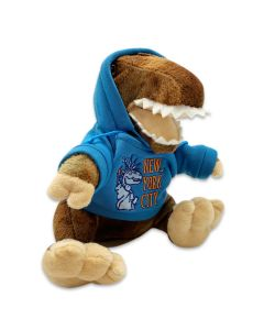 Plush Baby T Rex with NYC Hoodie