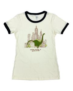 Ladies Sauropod In The City T-Shirt