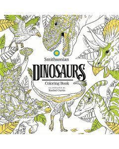 Smithsonian Dinosaurs Coloring Book