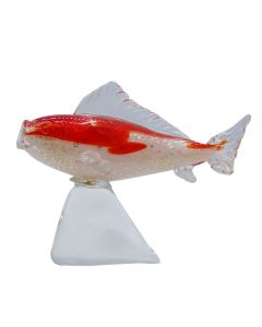 Handcrafted Glass Koi Fish