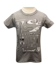 Youth Glow-In-The-Dark Dino Excavation T-Shirt