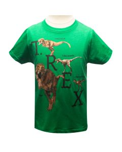 Youth Green T. Rex Development T-Shirt