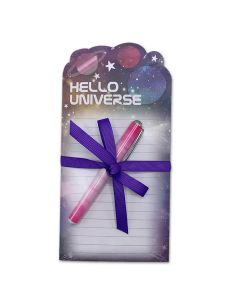 Hello Universe Notepad and Pen Set