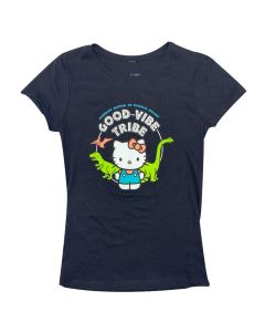 Girls Hello Kitty Good Vibe Tribe T-Shirt