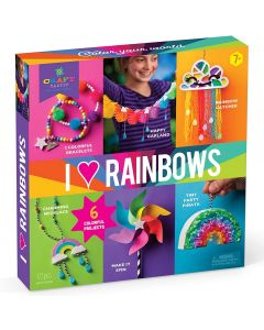 I Love Rainbows Craft Kit