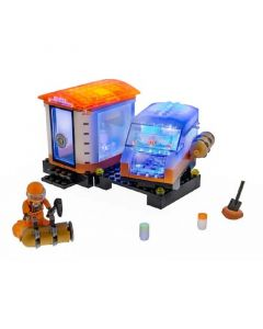 Laser Pegs Mission Mars Outpost Set