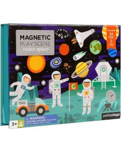 Magnetic Outer Space Play Scene