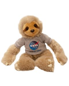 NASA I Need My Space Three-Toed Sloth Plush
