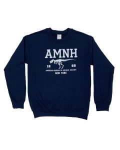 Adult AMNH Navy Fleece Sweatshirt