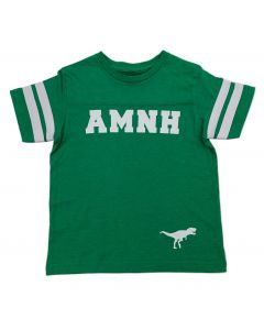 Youth AMNH Green Football T-Shirt