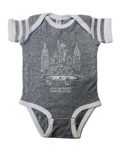 Infant NYC Dino Cabbie Onesie