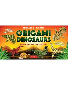 Origami Dinosaurs Book and Kit