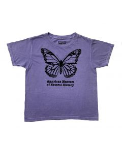 Girls Purple to Pink Color-Changing Butterfly T-Shirt