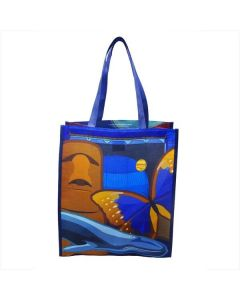 AMNH Icons Recycled Plastic Reusable Tote Bag - Small