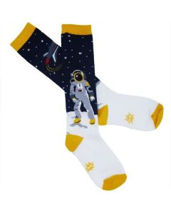 Youth Astronaut Knee High Socks
