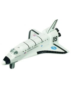 Space Shuttle Light and Sound Pull Back Toy