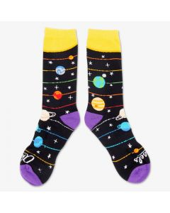 Adult Space-Themed Socks