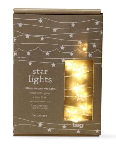 String of LED Star Lights