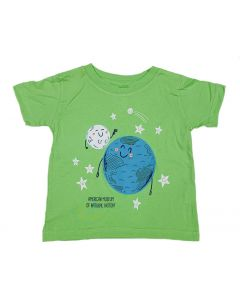 Infant Patriotic Moon T-Shirt