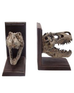 T. Rex Fossil Bookends Details