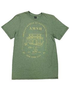 Adult Heather Green AMNH NYC Dino T-Shirt