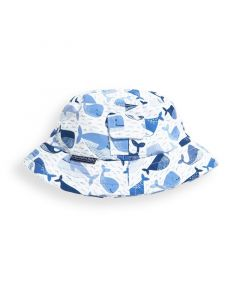 Infant / Toddler Blue Whale Bucket Hat