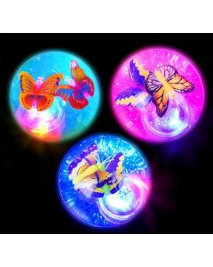 Light-Up Butterflies Glitter Ball