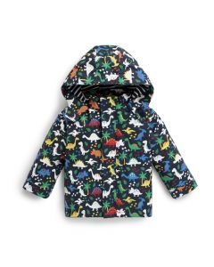 Infant / Toddler Color-Changing Dino Rain Coat