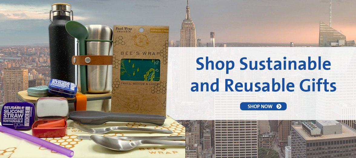 Shop Sustainable and Reusable Gifts