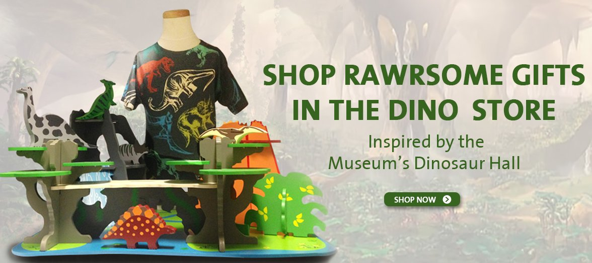 Shop the Dino Store