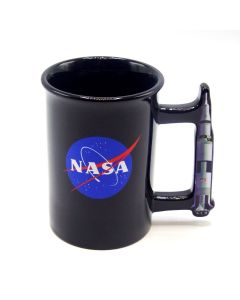 NASA Rocket Handle Mug