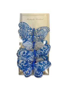 Garland Butterfly Blue
