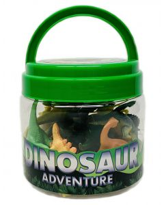 Miniature 24 Pc. Dinosaur Adventure Bucket