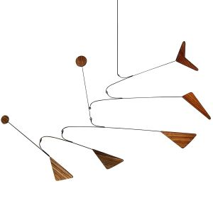 Delta Wooden Mobile by Hotchkiss