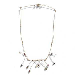 Tourmaline Springs Necklace by Meghan Patrice Riley