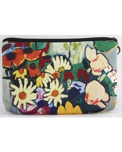 Johnson Flowers Cosmetic Bag