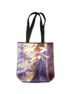 ''Lady in Blue'' Impressionism Neoprene Tote