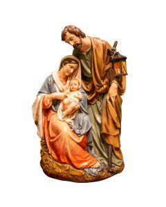 Holy Family Figurine Scene