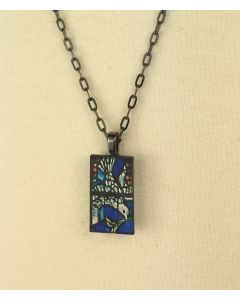 ''Noah'' Stained Glass Pendant